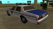 Chevrolet Caprice 1987 NYPD Transit Police for GTA San Andreas miniature 4
