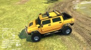 Hummer H2 SUT for Spintires DEMO 2013 miniature 2