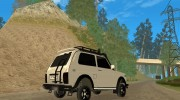 LADA NIVA 21213-OFF-ROAD для GTA San Andreas миниатюра 4