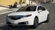 2009 Acura TL for GTA 5 miniature 1