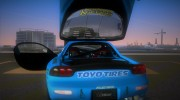 Mazda RX-7 FD3S RE Amemiya (Racing Car GReddy) for GTA Vice City miniature 8