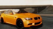 2011 BMW M3 GTS for GTA San Andreas miniature 2