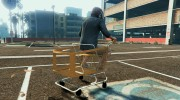 Shopping Cart - Trolley - Fun Vehicle  for GTA 5 miniature 3