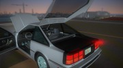 1986 Nissan 200SX for GTA Vice City miniature 12