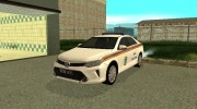 Toyota Camry МЧС for GTA San Andreas miniature 1
