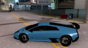 Lamborghini Murcielago LP 670-4 SV for GTA San Andreas miniature 2