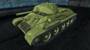 Т-34 - Sunabouzu (он же Desert Punk) for World Of Tanks miniature 1