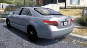 Toyota Camry 2011 for GTA 5 miniature 2
