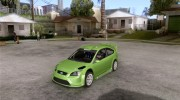 Ford Focus RS WRC 08 для GTA San Andreas миниатюра 1
