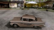 Chevrolet Bel Air 4-door Sedan Taxi 1957 for GTA San Andreas miniature 2