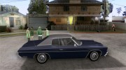Chevrolet Impala 1972 for GTA San Andreas miniature 5