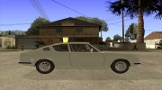 Audi 100 Coupe S 1974 for GTA San Andreas miniature 5
