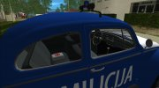 Volkswagen Beetle SFR Yugoslav Milicija (police) for GTA Vice City miniature 3