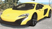 McLaren 675LT 2015 for BeamNG.Drive miniature 1