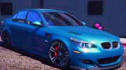 BMW M5 E60 v1.1 for GTA 5 miniature 1