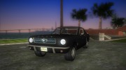 Ford Mustang 1965 for GTA Vice City miniature 1