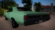 Chevrolet Chevelle SS 196 for GTA Vice City miniature 4