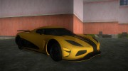 Koenigsegg Agera R 2013 for GTA Vice City miniature 2