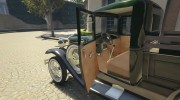 Ford A Pick-up 1930 for GTA 5 miniature 9