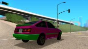 Toyota Corolla AE86 for GTA San Andreas miniature 4