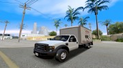 2008 Ford F-550 Box Truck for GTA San Andreas miniature 1
