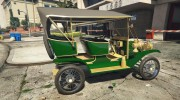 Ford T 1910 Passenger Open Touring Car for GTA 5 miniature 9