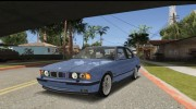 BMW M5 E34 Coupe for GTA San Andreas miniature 1