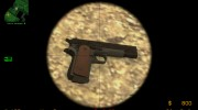 Colt .45 - Reverse 2tone by SZA for Counter-Strike Source miniature 4
