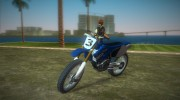 Yamaha YZ450F 2003 v2.1 for GTA Vice City miniature 1