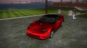 Chevrolet Corvette ZR1 Black Revel for GTA Vice City miniature 1