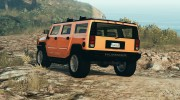 Hummer H2 FINAL for GTA 5 miniature 2