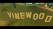 GTA V Vinewood Sign v3.0 для GTA San Andreas миниатюра 2