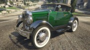 Ford T 1927 Roadster for GTA 5 miniature 7