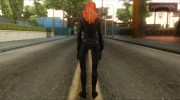 Captain America: Civil War Black Widow for GTA San Andreas miniature 3