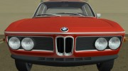 BMW 3.0 CSL 1971 for GTA Vice City miniature 8