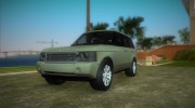 Land Rover Range Rover 2010 for GTA Vice City miniature 1