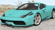 Ferrari 458 Speciale 2014 for BeamNG.Drive miniature 1