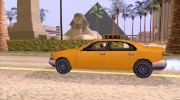 GTA 3 Taxi for GTA San Andreas miniature 6