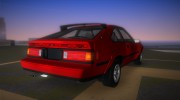 Toyota Celica Supra 1984 for GTA Vice City miniature 3