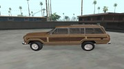 Jeep Grand Wagoneer 1986 for GTA San Andreas miniature 3