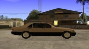 Mercedes Benz 400 SE W140 (Wheels style 3) for GTA San Andreas miniature 5