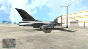 F-16 Iraqi Army Aviation for GTA San Andreas miniature 2