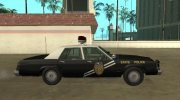 Ford LTD Crown Victoria 1987 New Mexico State Police for GTA San Andreas miniature 6