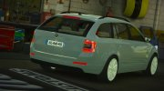 Skoda Octavia Civil for GTA 5 miniature 4