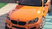 2013 BMW M6 Coupe for GTA 5 miniature 10