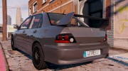 Mitsubishi Lancer EVO 8 MR Tunable for GTA 5 miniature 5