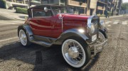 Ford T 1927 Roadster for GTA 5 miniature 2