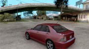 Toyota Altezza RS200 1998 for GTA San Andreas miniature 3
