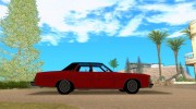 Ford LTD Brougham 4 door 1975 for GTA San Andreas miniature 5