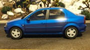 2008 Dacia Logan v2.0 FINAL for GTA 5 miniature 3